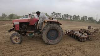 Veer Partap tractor top speed with 8X8 harrow in the field thumbnail