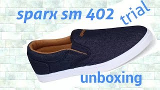 #sparx shoes Sm 402 quick unboxing white best quality first impression quick trial relaxo unisex
