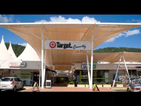 Fabric Building and Tensile Shade