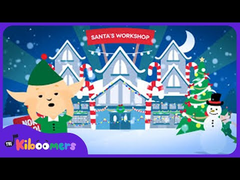 Where is Santa? | Kids Christmas Songs | Christmas Carol | Santa Claus | The Kiboomers
