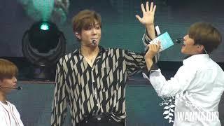 170922 Wanna One Fan Meeting - Daniel & Woojin Talent Time