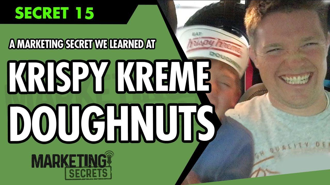 A Marketing Secret We Learned At Krispy Kreme Doughnuts