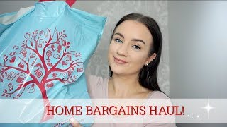 HOME BARGAINS HAUL MARCH 2018 | MOTHERS DAY, EASTER & HOME | CARLY JADE DRAKE