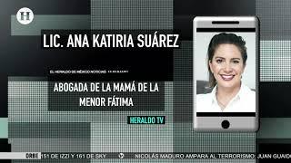 Agresores de Fátima afrontarán pena de más de 80 años: Abogada de la mamá de Fátima