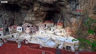 Sümela Manastırı'nda 'çile odaları' gün yüzüne çıkarılıyor