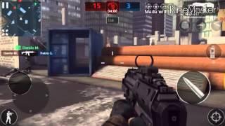 Modern Combat 5 Jogando luta em equipe