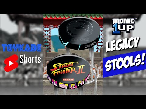 Arcade1up - Legacy Edition Stools Revealed #Shorts from ToyKade