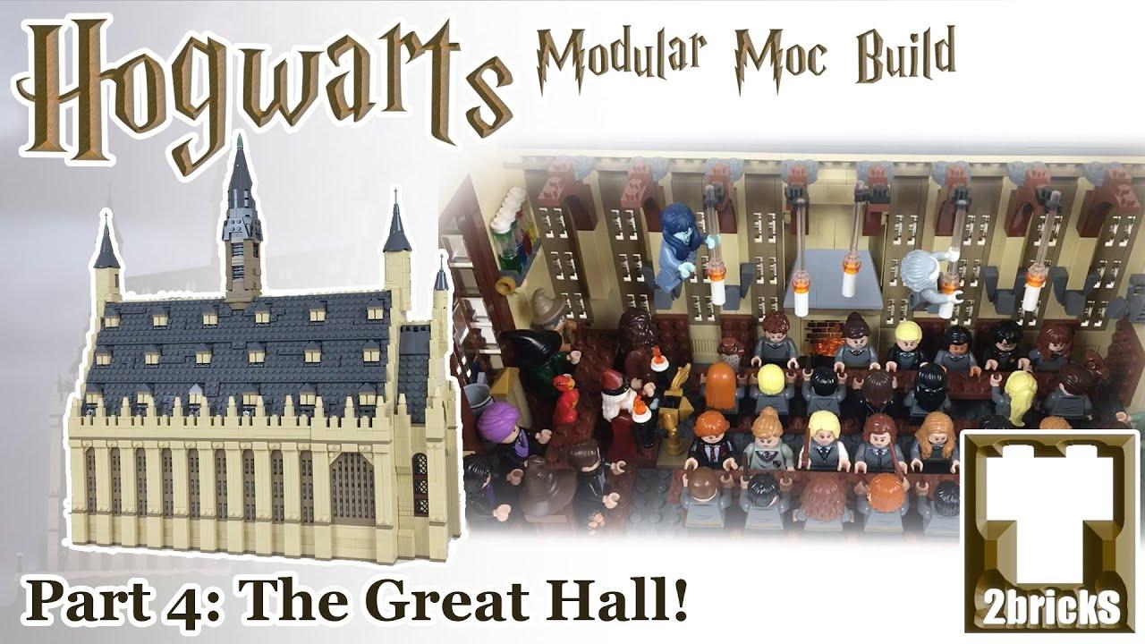 Download The Great Hall - Hogwarts Modular Lego MOC Series Episode 4!
