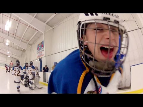 GoPro Chest Cam Youth Hockey Scrimmage