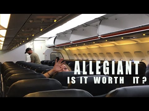 Allegiant Airlines, is it worth it?