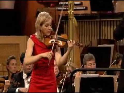 Vineta Sareika | Elgar Violin Concerto | 3rd Mvt | Queen Elisabeth Violin | 1 of 2 | 2009