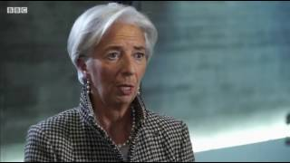 DAVOS Lagarde gives her view on Brexit and the UK's prospects