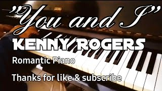 Beautiful Piano Solo You and I Romantic Song