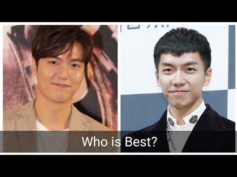 Lee Seung-gi vs Lee Min-ho Who is Best?