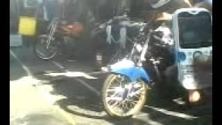 cewe jongki kawasaki ninja di kejuaraan drag bike