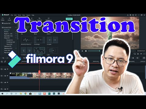 Filmora9 Transition Effects - How To Add and Edit?