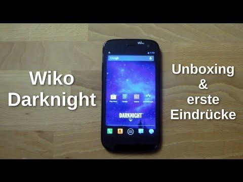 Wiko Darknight: Unboxing und erste Eindrücke - www.technoviel.de (deutsch)