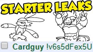 Card Designer Leaks Pokemon Sword and Shield Starter Evolutions and New Gen 8 Pokemon...
