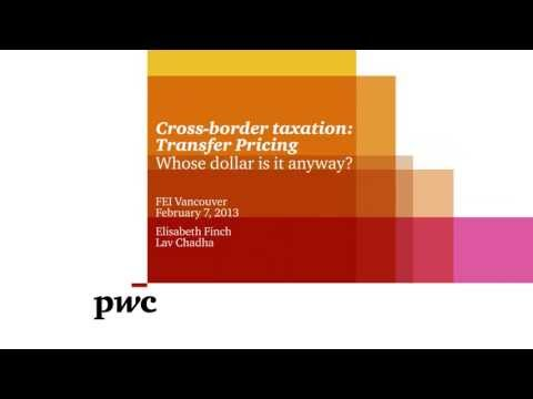 Cross-border taxation: Transfer pricing
