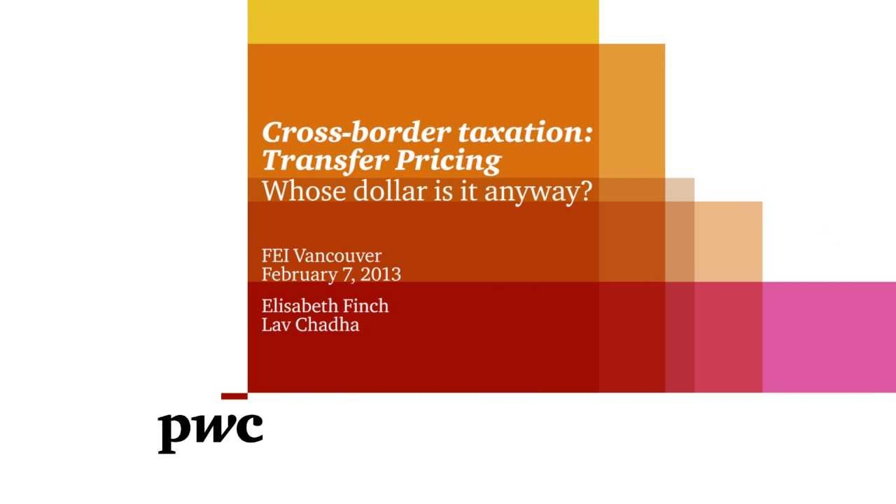 taxation in the u s transfer pricing Transfer pricing is a useful tool for tax minimization, and for which corporations the operational and enforce- ment costs are too great to risk implementing aggressive transfer pricing strategies we provide a rich, detailed, and direct account of transfer pricing for tax purposes, as reported by mul.
