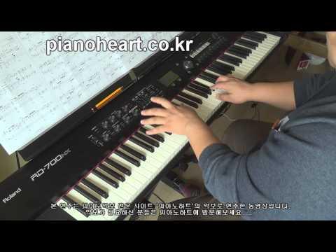 [별그대ost] 허각(Huh Gak) - 오늘 같은 눈물이(Tears Fallin' Like Today) 피아노 연주,RD-700NX
