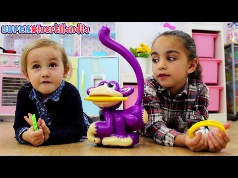 Pilla al Mono Pepe! SUPERDivertilandia con Andrea e Irene.