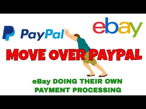 Move Over Paypal eBay Doing Their Own In House Payment Processing - Will They Accept Crypto?
