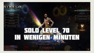Diablo 3: Solo 1-70 in wenigen Minuten