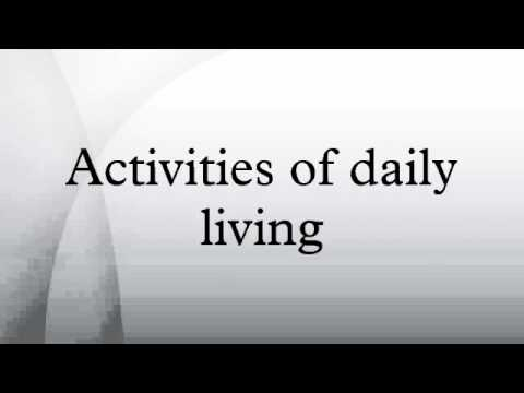 activities of daily living 2 The term activities of daily living, or adls, refers to the basic tasks of  table 2 compares the surveys for the noninstitutionalized elderly age.