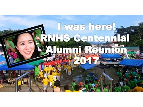 VlOG: RNHS Romblon's 100th Centennial Reunion