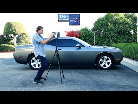 3DScanning a Car for Visual Effects with Lidar / Faro 3D Focused Laser