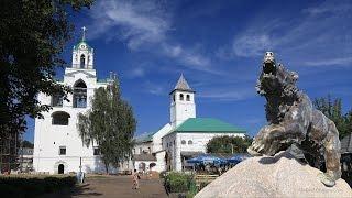 Ярославль - чудо-город на Волге     Yaroslavl - the wonderful city on the Volga