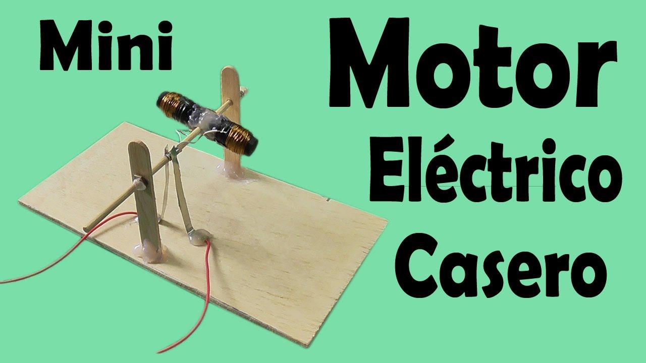c2b907b8e23 Cómo Hacer Un Motor Eléctrico Casero (muy fácil de hacer) - YouTube