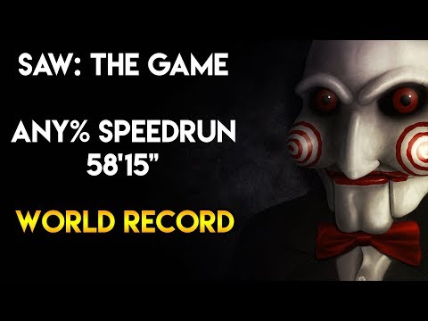 "SAW: The Game - Any% Speedrun - 58'15"" [World Record]"