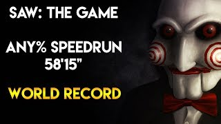 "SAW: The Game - Speedrun - 58'15"" [World Record]"