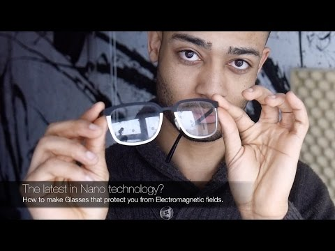 EMF Protection || How to make Glasses that protect you from EMFs