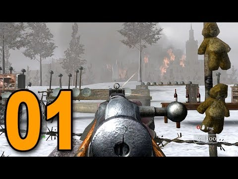 Call of Duty 2 - Part 1 - WORLD WAR II!