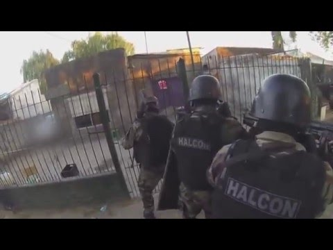 POV Of Argentina Swat Team Raid