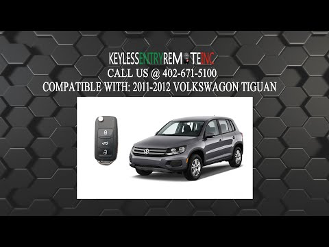 How To Replace Volkswagen Tiguan Key Fob Battery 2011 2012