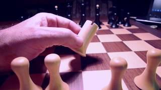 Best Chessmen Ever over the DGT e-board against Deep Fritz.