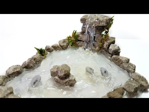 Hot Glue 3D Dolphins in Waterfall Tutorial ♥