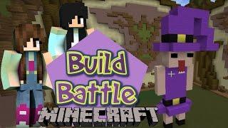 Minecraft Build Battle - ESTÁTUA E BRUXINHAS