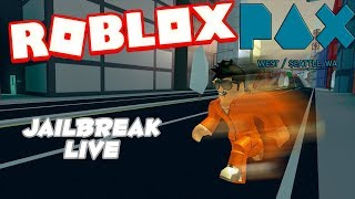 Roblox Jailbreak Live 🔴 Last Stream till PaxWest| Grinding for Cash 💸|| Come join me!