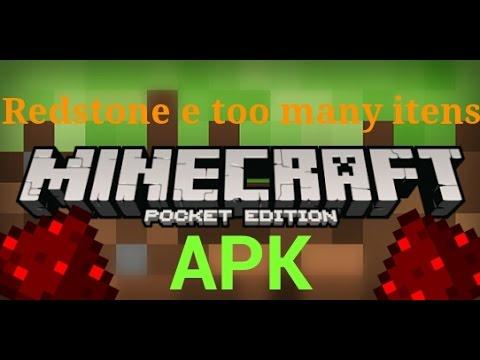 toomanyitens e Redstone mods APK