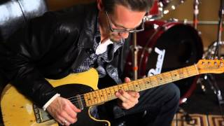 The Fabulous Thunderbirds Mike Keller guitarist demos a Grammatico LaGrange tube guitar amp
