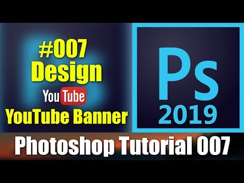 How To Design YouTube Banner In Photoshop Tutorial-7 [desimesikho] 2019