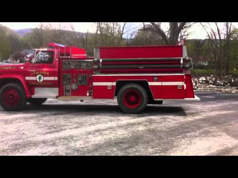 1984 GMC FIRE TRUCK Engine Tanker Pumper 427 V8 gas GVW 25,900 NO CDL - $3000 Jamaica Vermont