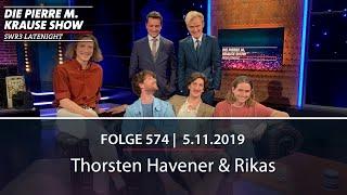 Pierre M. Krause Show vom 05.11.2019 mit Thorsten und Rikas