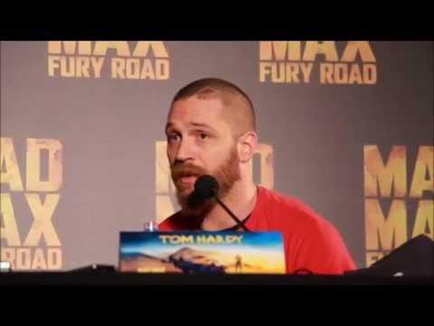"Tom Hardy Mad Max Fury Road Interview: Taking on ""Mad Max"""