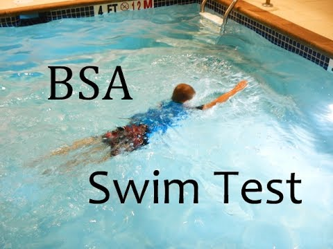 Image result for boy scout swimming merit badge